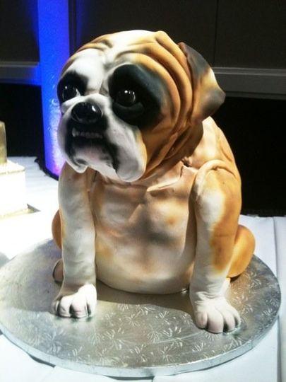 Dog inspired cake