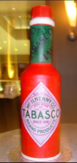 Tabasco inspired cake