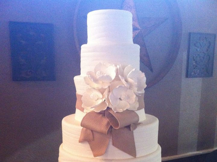 Tmx 1376621762450 Stockyards Cake Addison, TX wedding cake