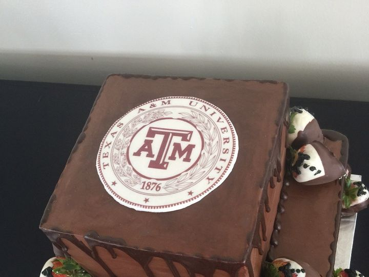 Tmx 1504669769977 Grooms Cake Addison, TX wedding cake