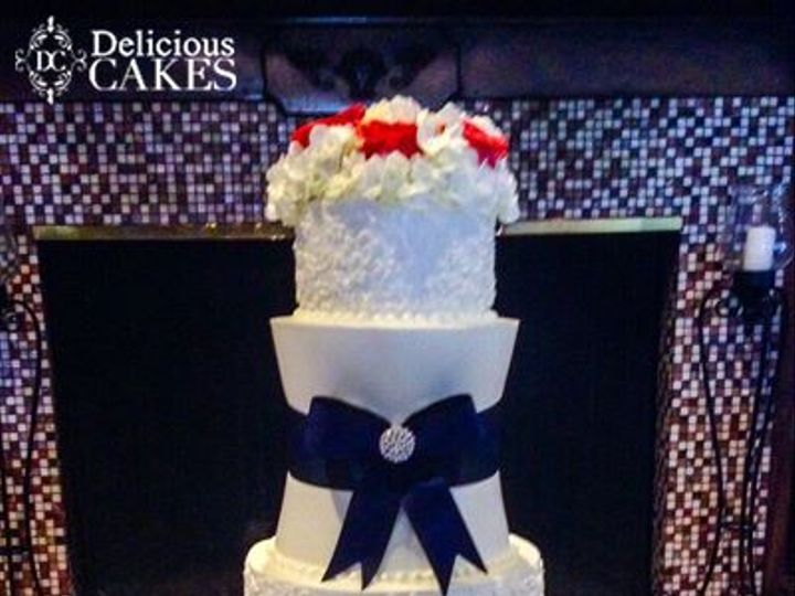 Tmx Navy 51 47366 Addison, TX wedding cake