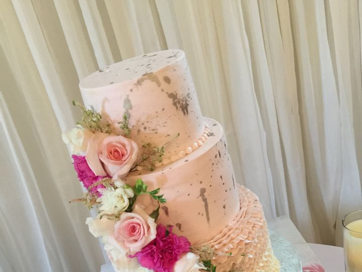 Tmx Spring Flowers 51 47366 Addison, TX wedding cake