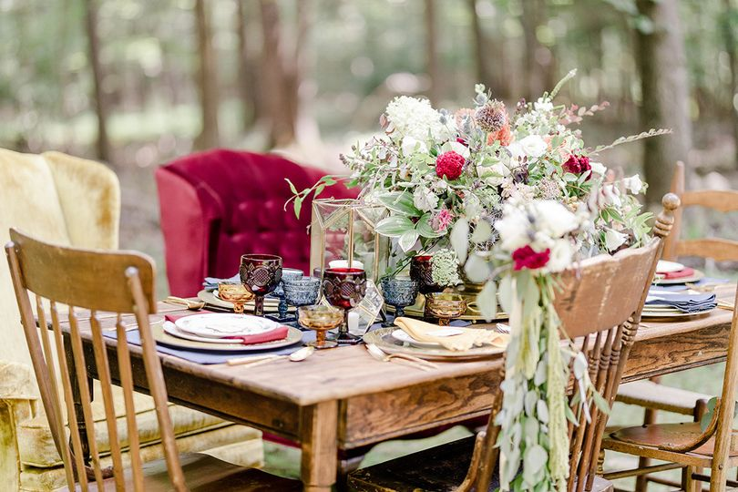 BoHo Woods Table