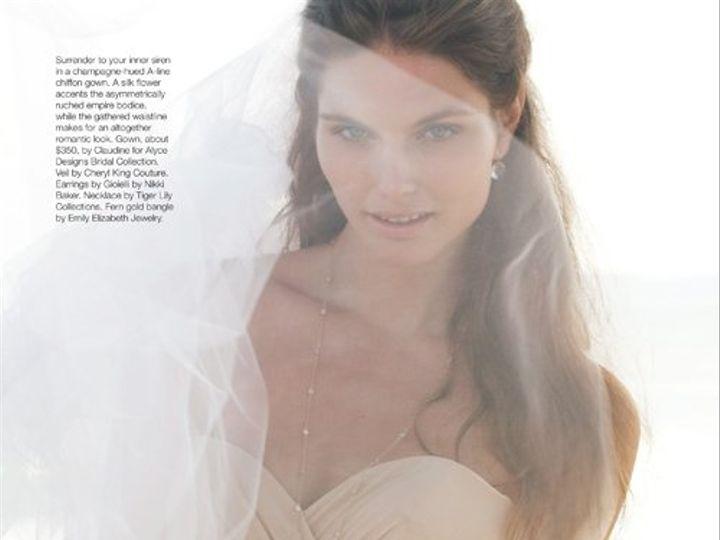 Tmx 1344382958287 BridalGuideMagMarchApril201172dpi Malibu wedding jewelry