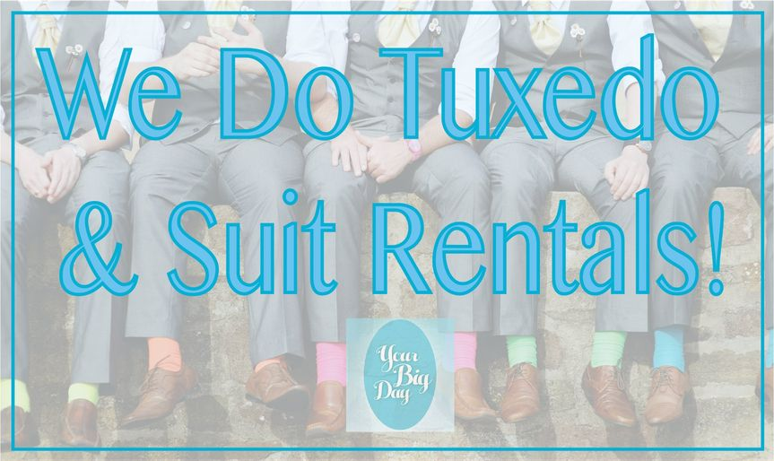 Suits and Tuxes for Rent