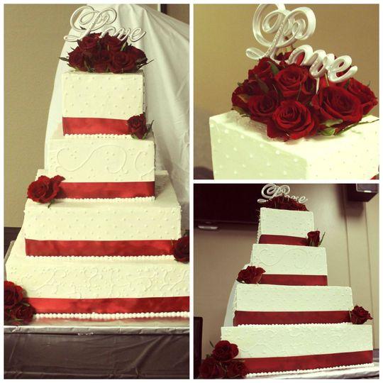 Lush Couture Cakes - Wedding Cake - Kansas City, MO - WeddingWire