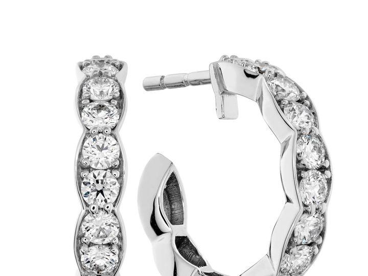 Tmx 1461425348486 Lorelei Floral Hoops Mount Joy wedding jewelry