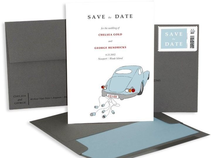 Tmx 1429071537583 Car Save The Date Eastchester wedding invitation