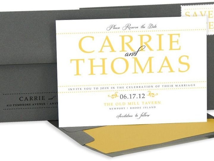 Tmx 1429071540733 Large Name Save The Date Eastchester wedding invitation