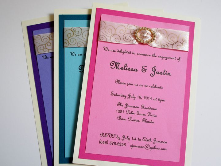 Tmx 1429071574510 Img0441 Eastchester wedding invitation