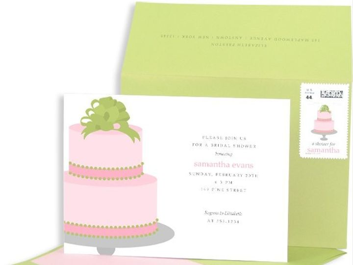 Tmx 1429071682652 Cake Bridal Shower Eastchester wedding invitation