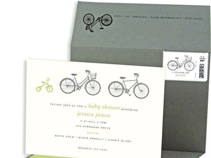 Tmx 1429071834280 Bicycle Baby Shower Invitations Eastchester wedding invitation