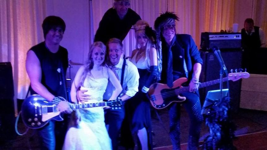 Couple with the band