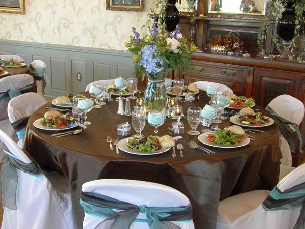 Caterers are available in the area, or ask us about catering your wedding.  You are also welcome to...