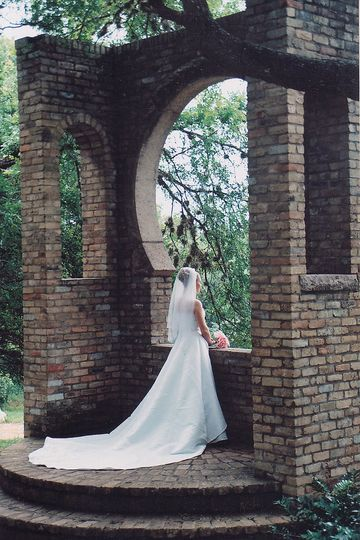 Bridal photo taken by The Wedding Belles of Houston bride Angelia