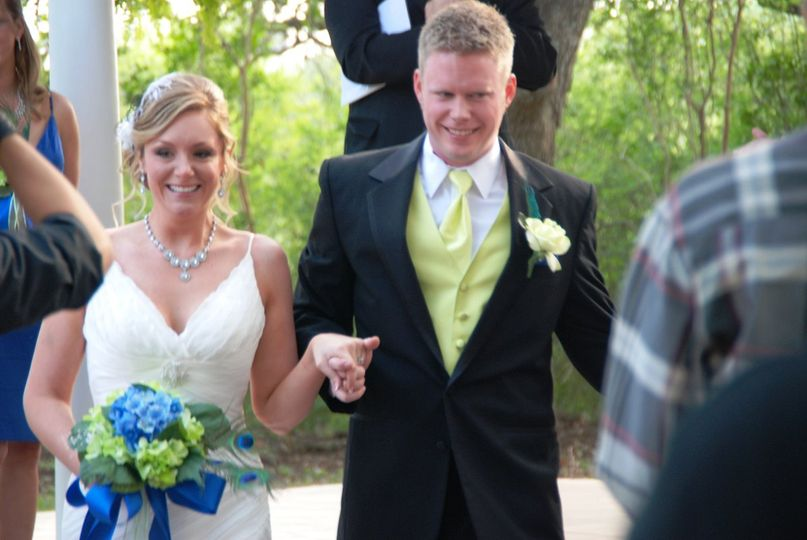 Laura and Mason's wedding at The Winfield Inn in Kyle, Texas