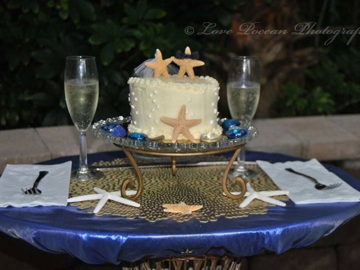 Tmx 1447334245569 Cake Set Up With Logo Palm Bay, FL wedding photography