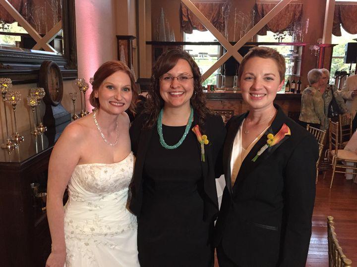 Tmx 1457912357764 Emily And Irena Weddingjpg Woodland, California wedding officiant