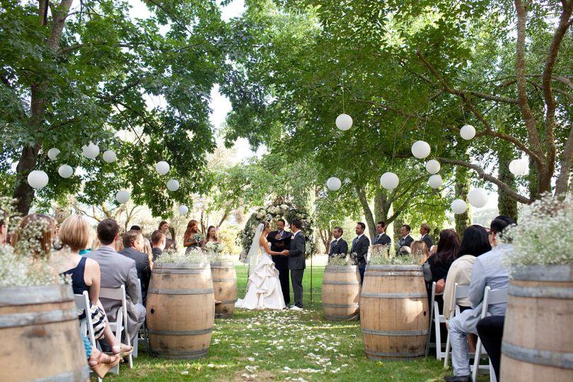 Great Lawn Wedding ceremony