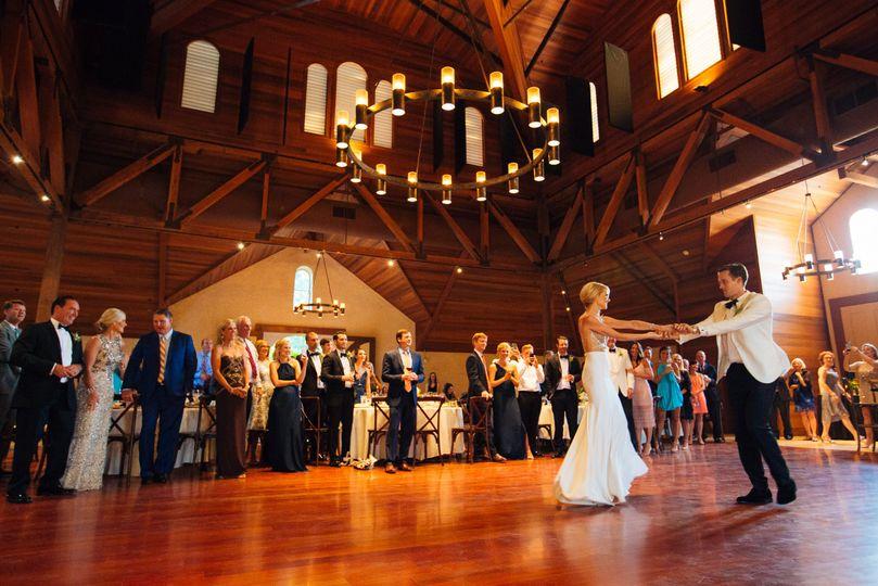 Redwood Dance Floor