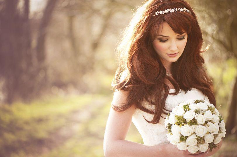 A Heavenly bride!