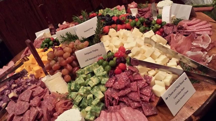 Reception? How about our amazing antipasto display!Cured Italian Meats, Globally Sourced Cheese,...