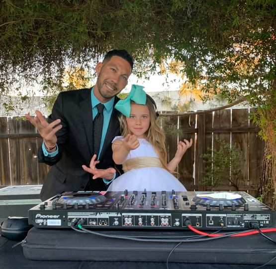DJ and Daughter Combo :)