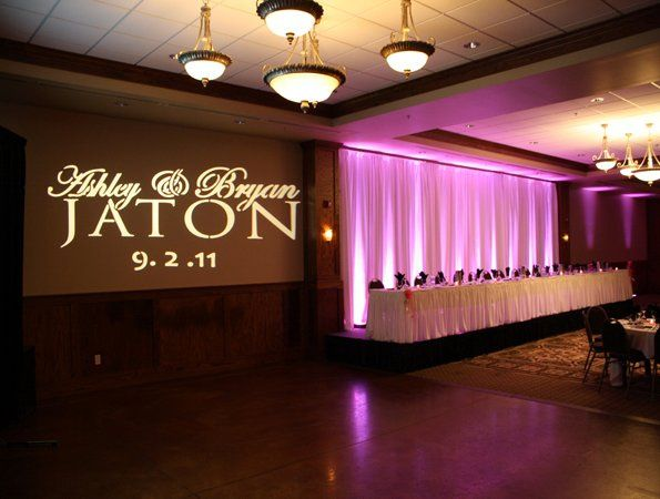 Your reception, your way!  Beautiful celebrations for you!