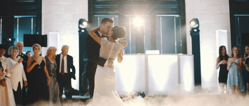 First dance on clouds