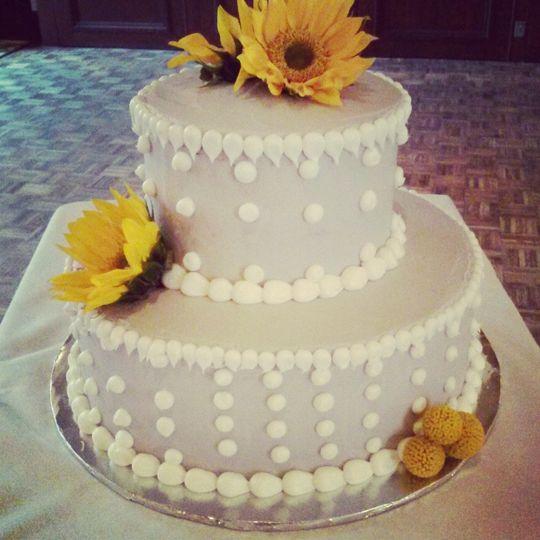 2 layer cake