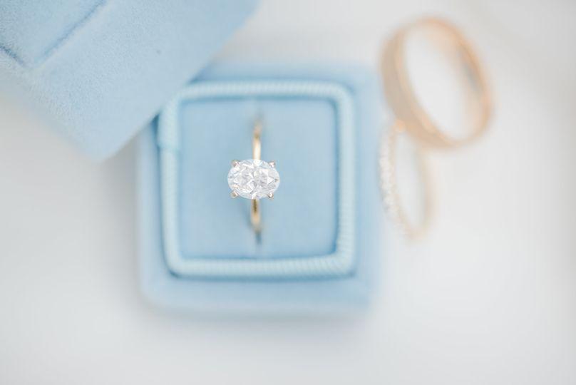 Ring detail - Mrs. Box