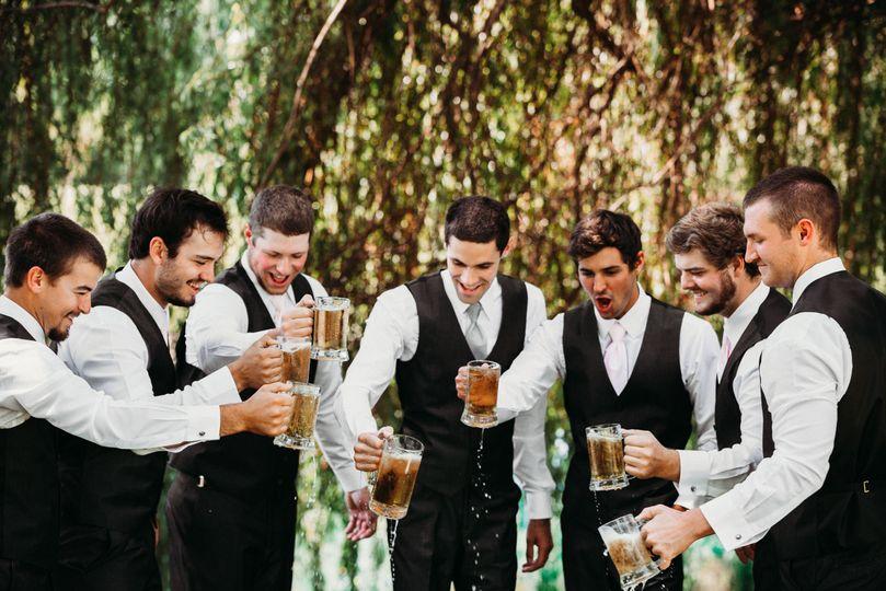 A toast...