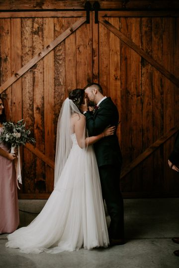 Ceremony in the Hay Barn