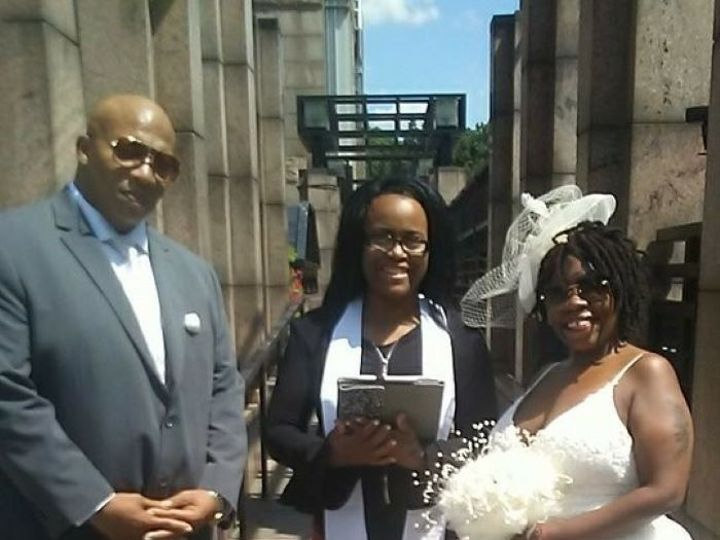 Tmx Timothy And Alisha Wedding Cereomony 51 991566 1561911564 Staten Island, New York wedding officiant