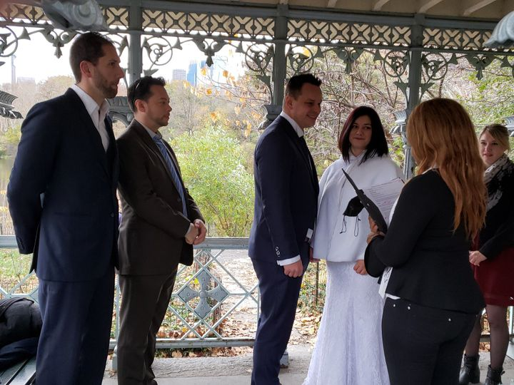 Tmx Wedding Ceremony For Charly And Aurelie 3 51 991566 V1 Staten Island, New York wedding officiant