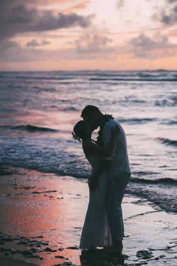 North Shore Hawaii Wedding