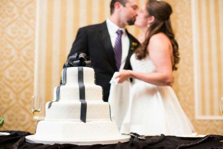 4-layered cake