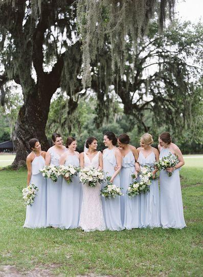 Casi  + her bridesmaids