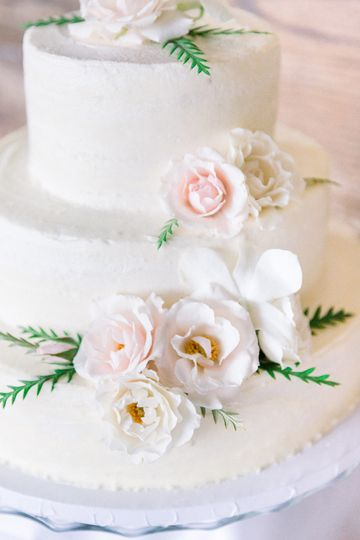 Classical tiered cake