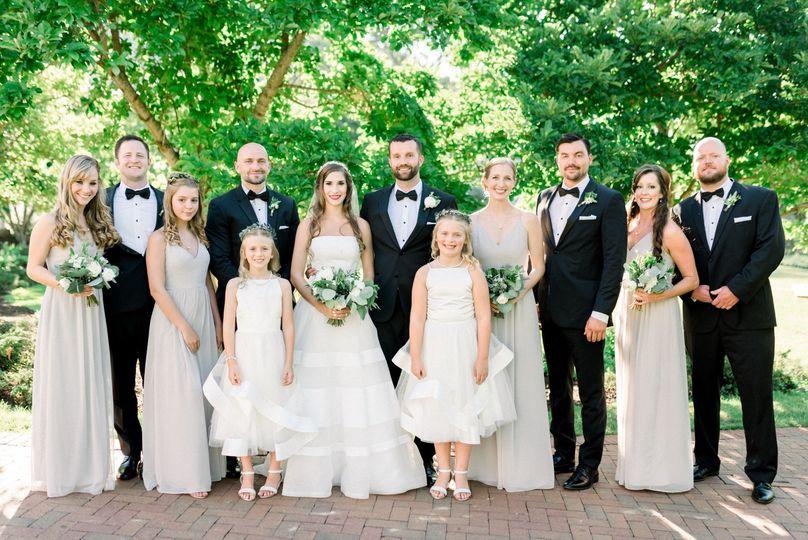 Omni Homestead Bridal Party