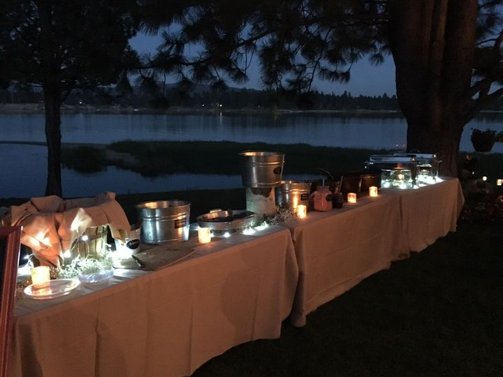 Buffet on the Lake