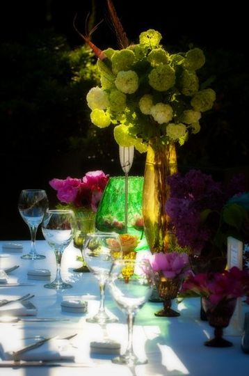 Table centerpiece | Suzanne  Mapes Photography