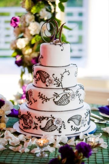 Wedding cake | Susan Bordelon Photography