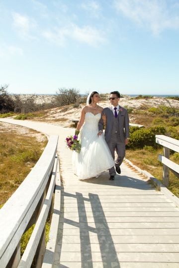 Asilomar Beach Wedding