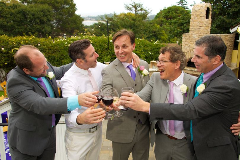 """The Guys"" Perry House Wedding"