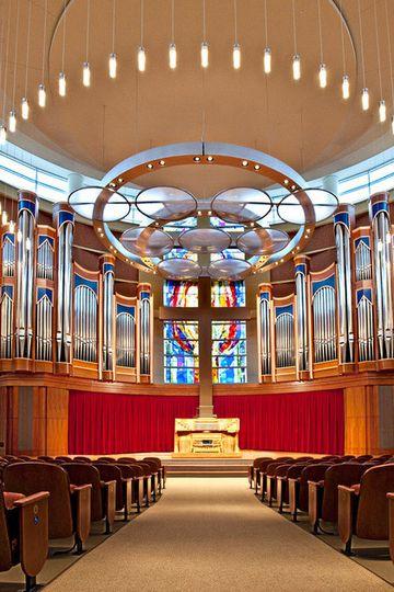Belin Chapel at Houston Baptist University
