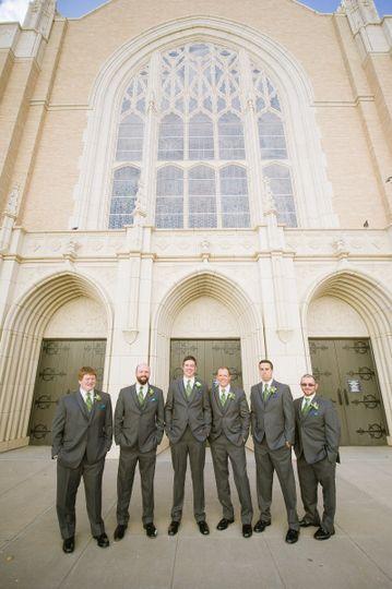 groom and groomsmen 1