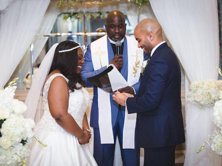 Tmx 1535550881 22788c619d16437a Christine And Brandon Pic Bronx, NY wedding officiant