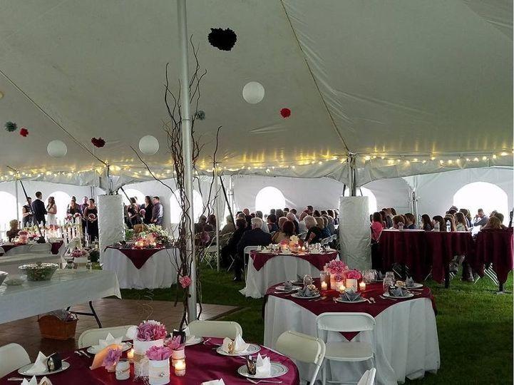 A beautiful reception