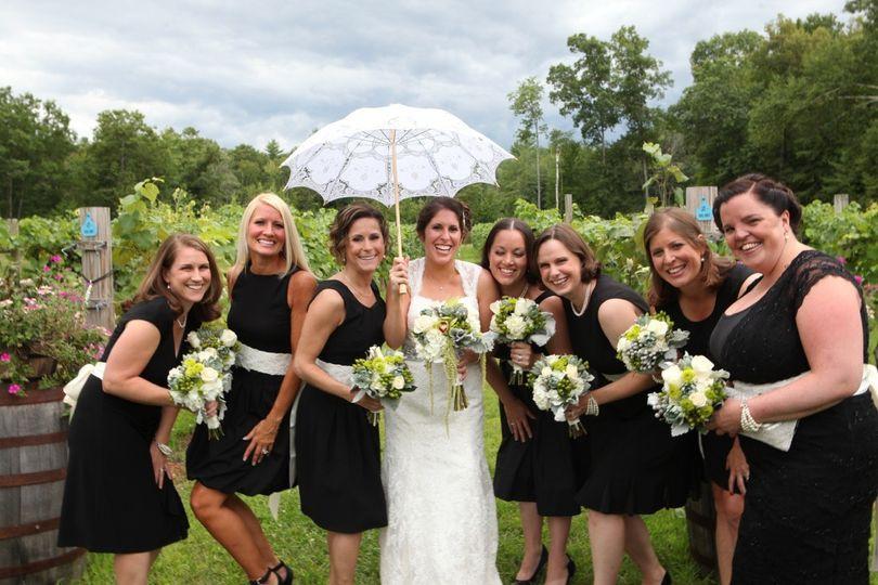 abby wedding party